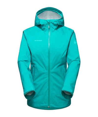 Mammut Hardshelljacke »Albula HS Hooded Jacket Women« aus Recyclingpolyester