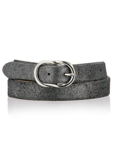 Alba Moda Gürtel in Metallic-Look