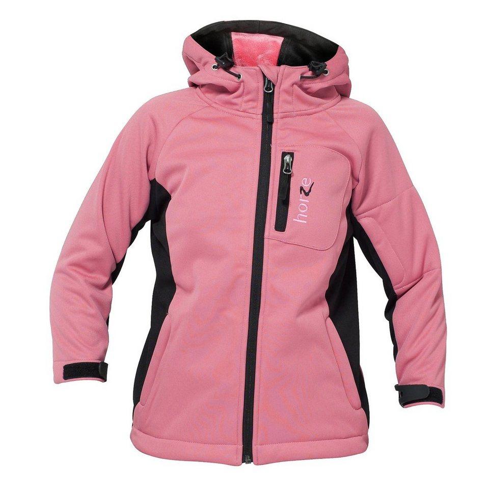 Horze SoftShell-Jacke »Sini« in Rosa Pink