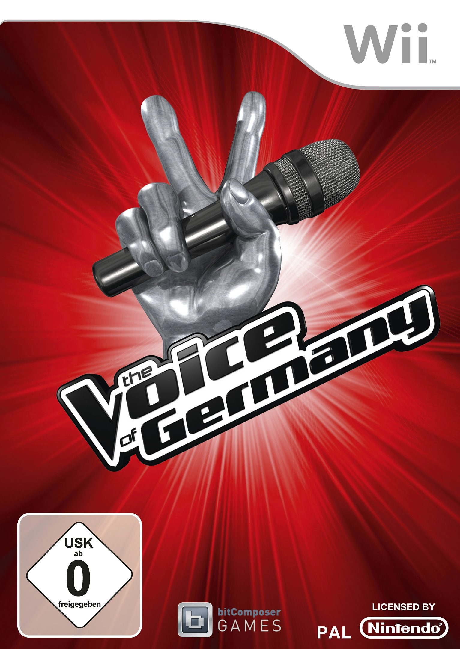 Wii - Spiel »The Voice of Germany (Standalone)«