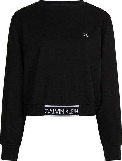 Calvin Klein Performance Sweatshirt »PW - CROPPED PULLOVER« mit Calvin Klein Logo-Schriftzügen