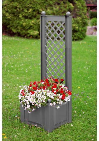 KHW Ažūrinė sienelė gėlėms su Lauko vazona...