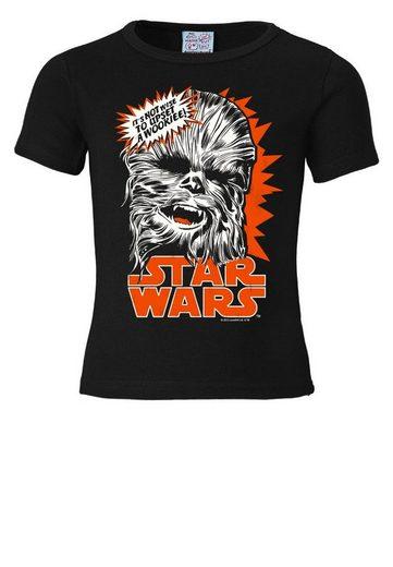 LOGOSHIRT T-Shirt mit tollem Frontprint »Chewbacca - Star Wars«