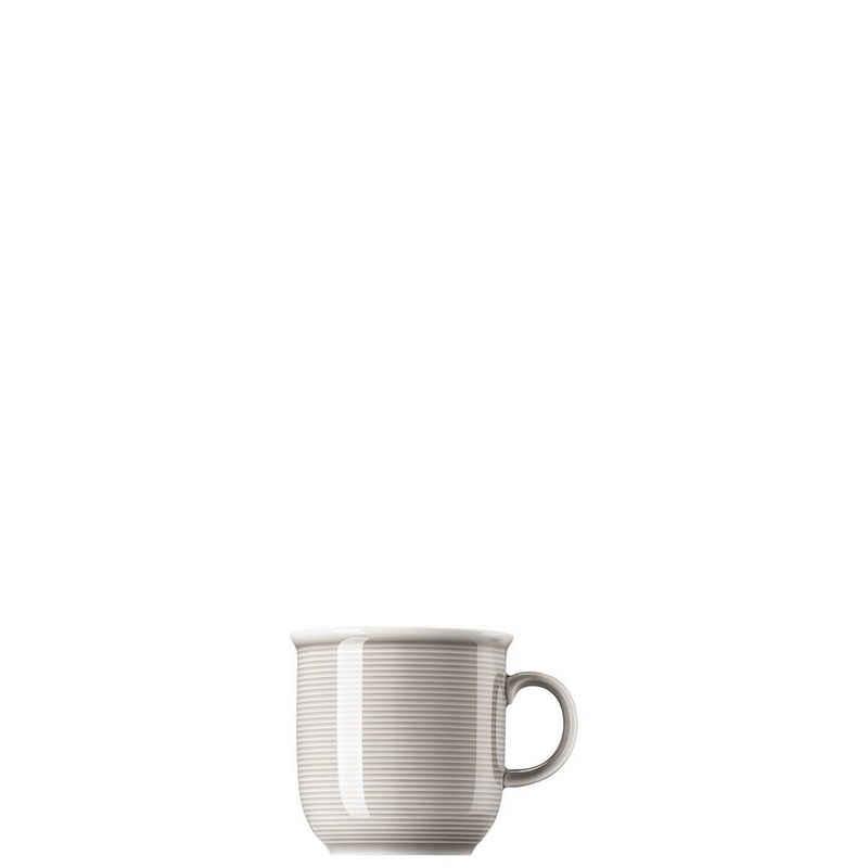 Thomas Porzellan Becher »Trend Colour Moon Grey Becher mit Henkel groß«, Porzellan