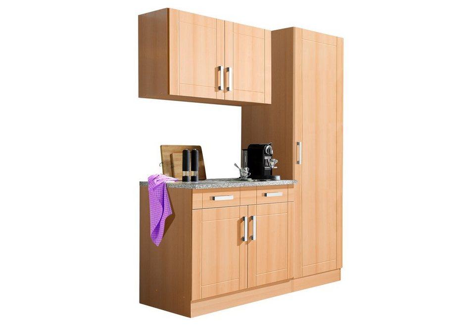 Küchenblock, Held Möbel, »Tinnum«, Breite 150 cm (3-tlg.) in Buchefarben