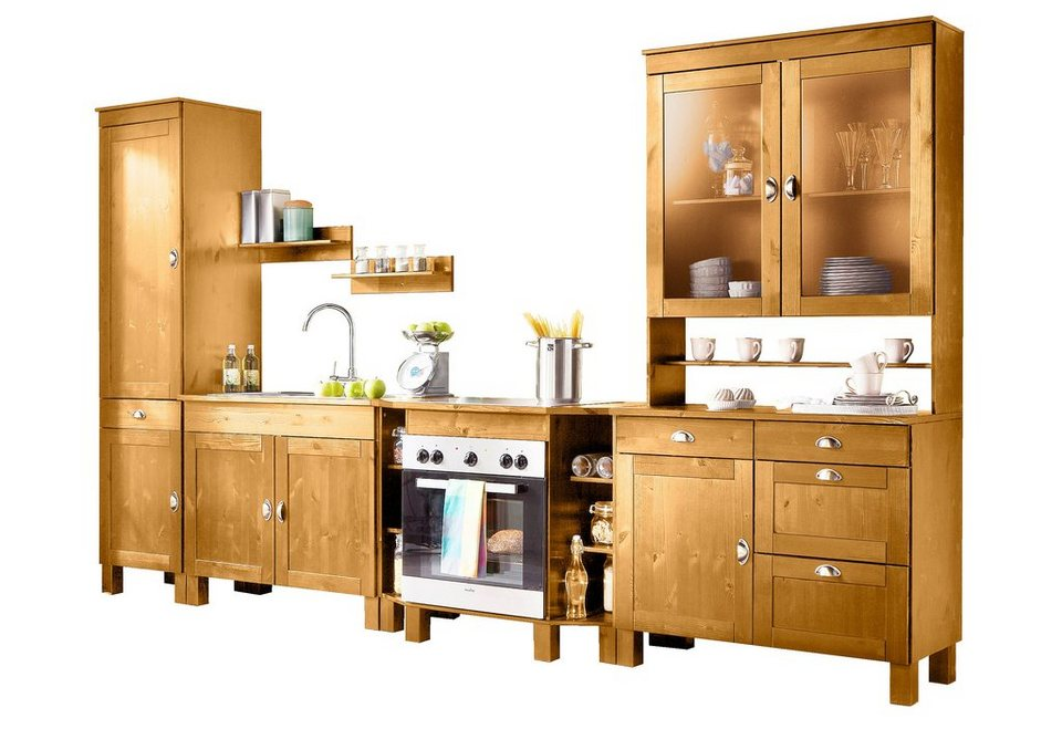 home affaire spar set oslo 7 teilig aus massiver. Black Bedroom Furniture Sets. Home Design Ideas