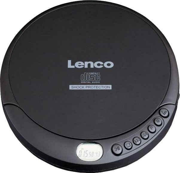 Lenco »CD-200« CD-Player (Anti-Schock-Funktion)