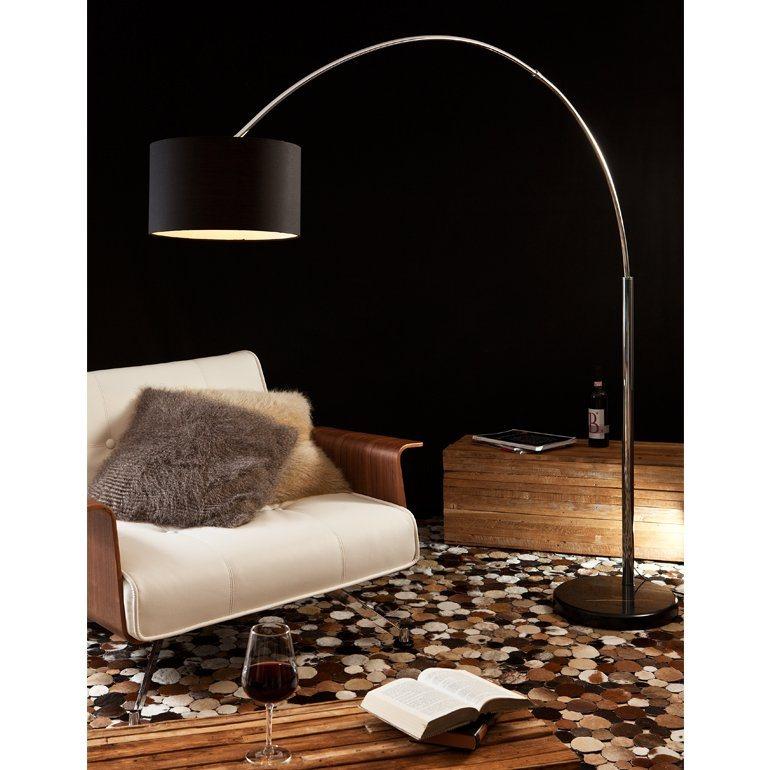 salesfever bogenlampe schwarz gro alumi kaufen otto. Black Bedroom Furniture Sets. Home Design Ideas
