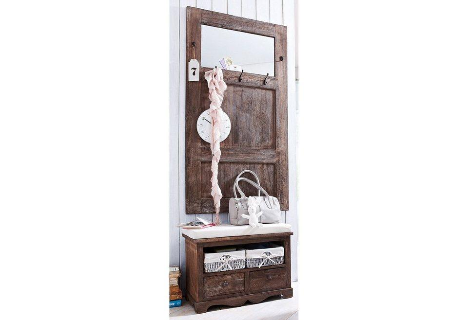 dielen set home affaire used look 2 tlg otto. Black Bedroom Furniture Sets. Home Design Ideas