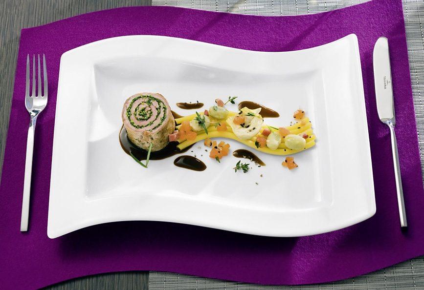 Gourmetteller, Villeroy & Boch, »New Wave« (2 Stck.)