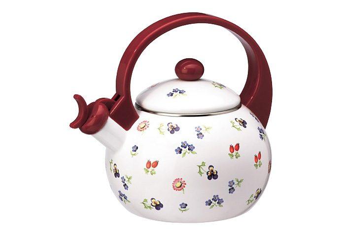 Teekessel, Villeroy & Boch, »Petit Fleur«