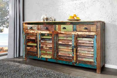 riess-ambiente Sideboard »JAKARTA 160cm bunt«, aus recyceltem Massivholz