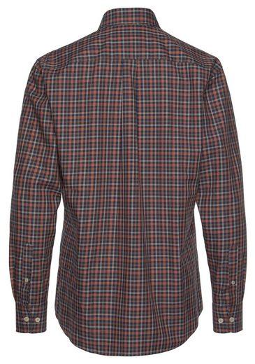 FYNCH-HATTON Flanellhemd mit Karomuster