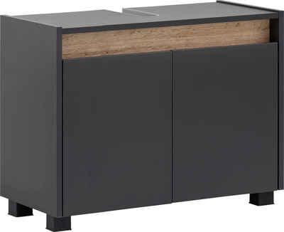 Schildmeyer Waschbeckenunterschrank »Cosmo« Breite 80 cm