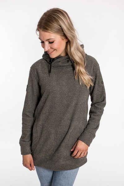 DEPROC Active Kapuzensweatshirt »SWEAT ALBERTA WOMEN« aus funktionalem Piqué-Fleece