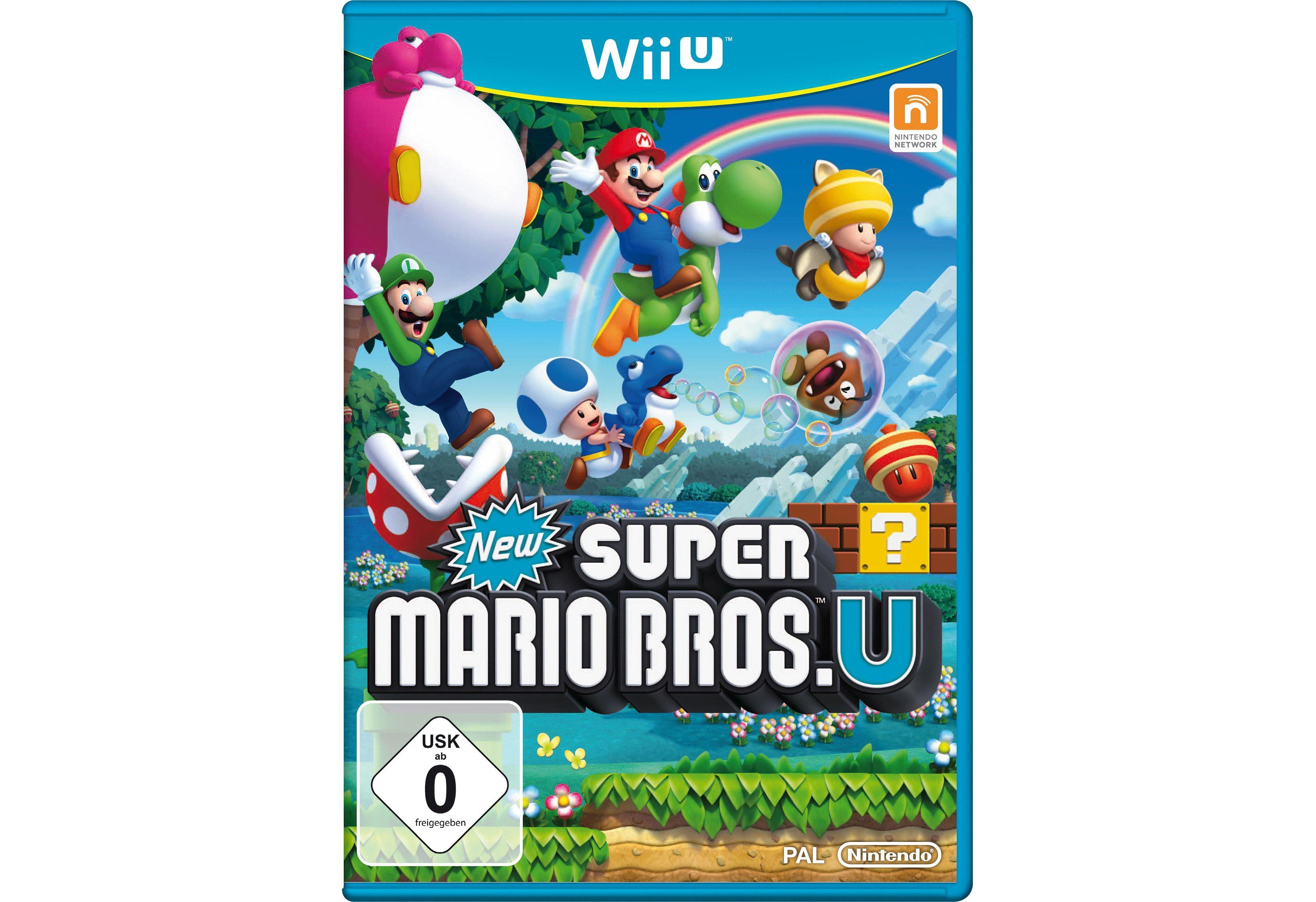 Wii-U-Spiel »New Super Mario Bros. U«