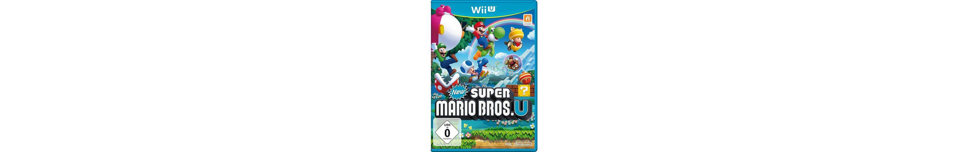 Wii-U-Spiel »New Super Mario Bros. U«