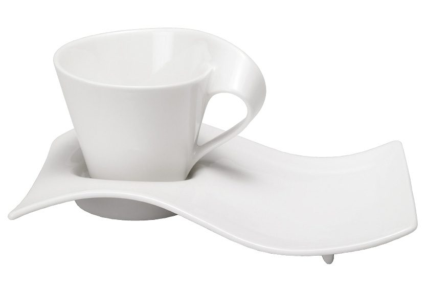 Cappuccino-Set, Villeroy & Boch, »New Wave« (8-tlg.)