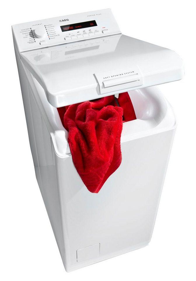 AEG Waschmaschine Toplader L76265TL3, A+++, 6 kg, 1200 U/Min in weiß