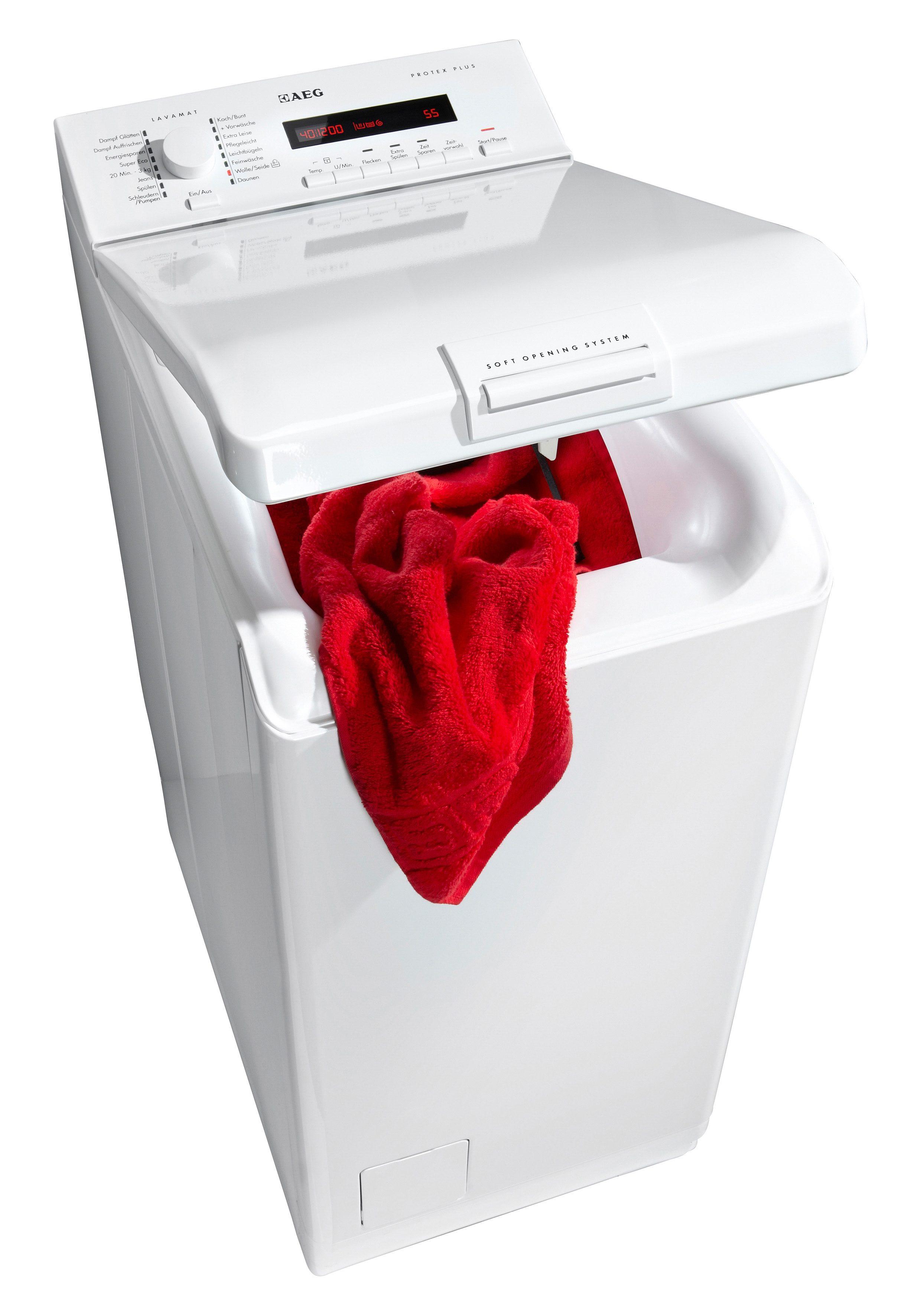 AEG Waschmaschine Toplader L76265TL3, A+++, 6 kg, 1200 U/Min