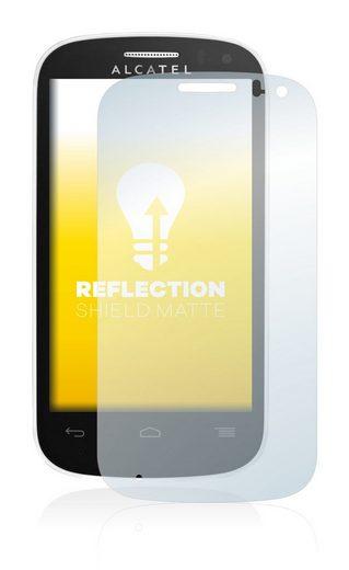upscreen Schutzfolie »für Alcatel One Touch OT-4033D«, Folie Schutzfolie matt entspiegelt