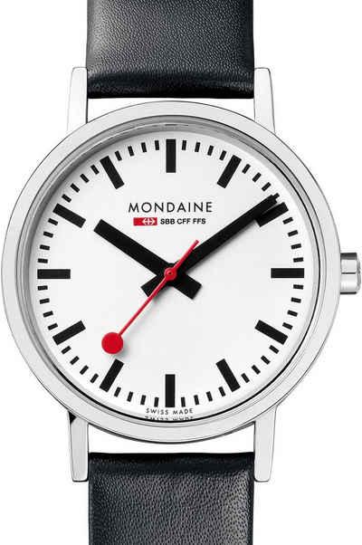 MONDAINE Schweizer Uhr »Classic, A658.30323.11SBB«