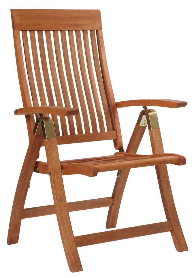 Gartenstühle holz klappbar  Merxx Gartenstuhl »Bordeaux«, Eukalyptusholz, klappbar ...