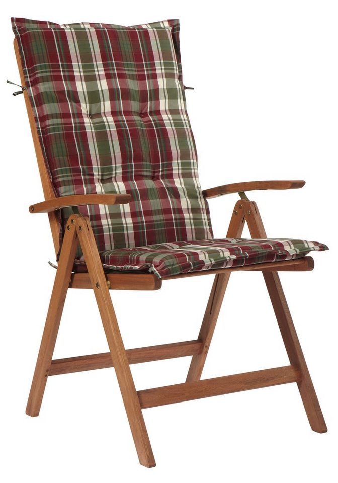 gartenstuhl borkum 2er set eukalyptusholz verstellbar inkl auflagen online kaufen otto. Black Bedroom Furniture Sets. Home Design Ideas