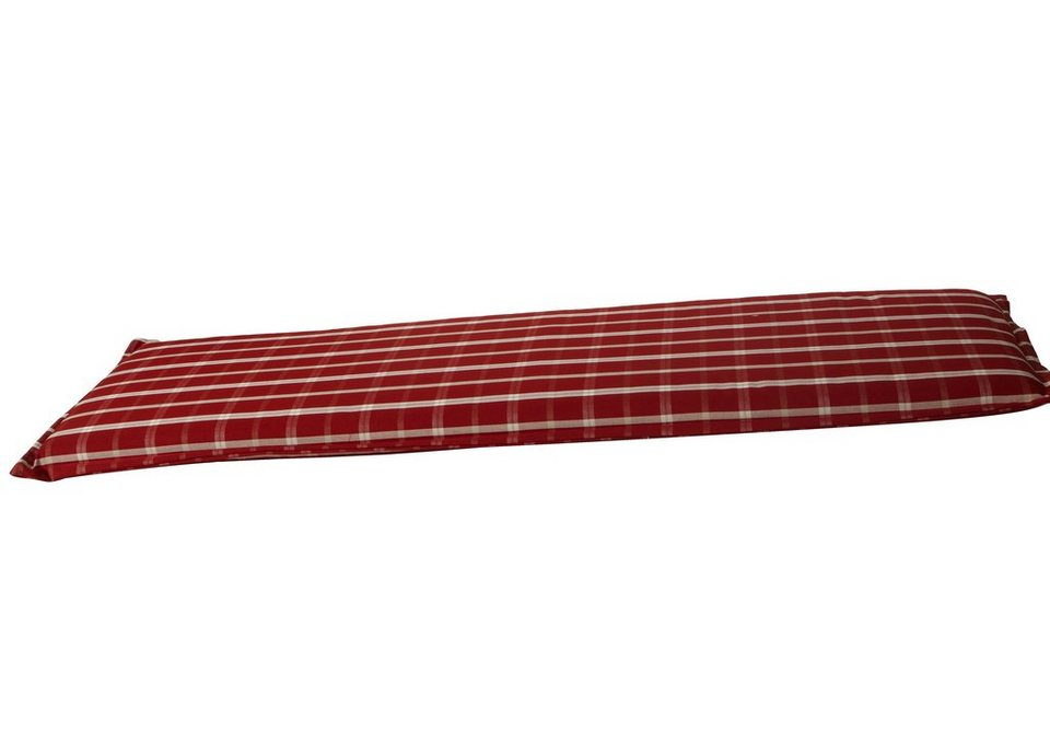 Bankauflage 3-Sitzer in rot