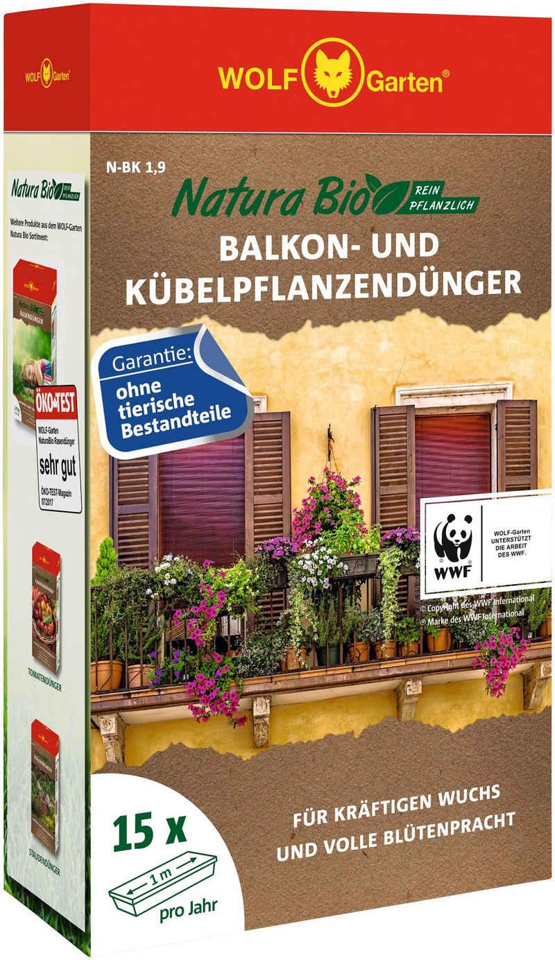 WOLF-Garten Pflanzendünger »Natura-Bio N-BK 1,9«, Granulat, 1,9 kg