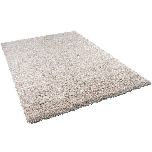 Hochflor-Teppich »Hochflor Langflor Shaggy Teppich Luxury«, Pergamon, Höhe 50 mm