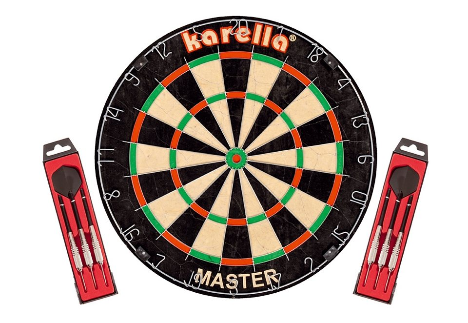 Master-Dartboard, Karella