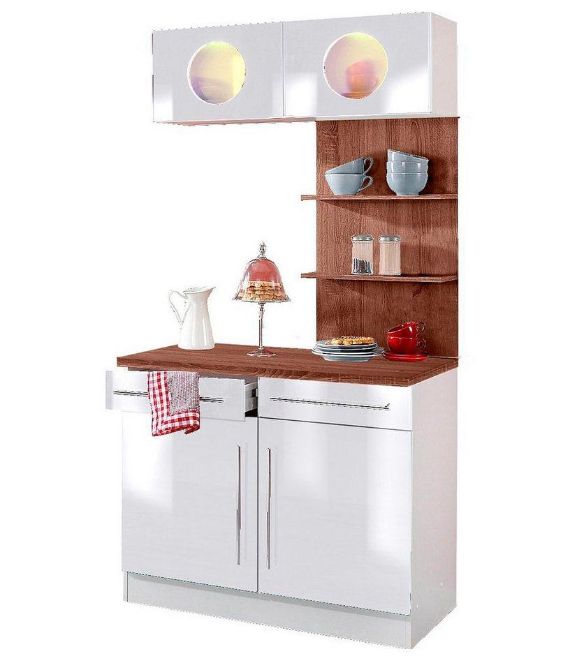 held m bel k chenbuffet keitum breite 100 cm otto. Black Bedroom Furniture Sets. Home Design Ideas