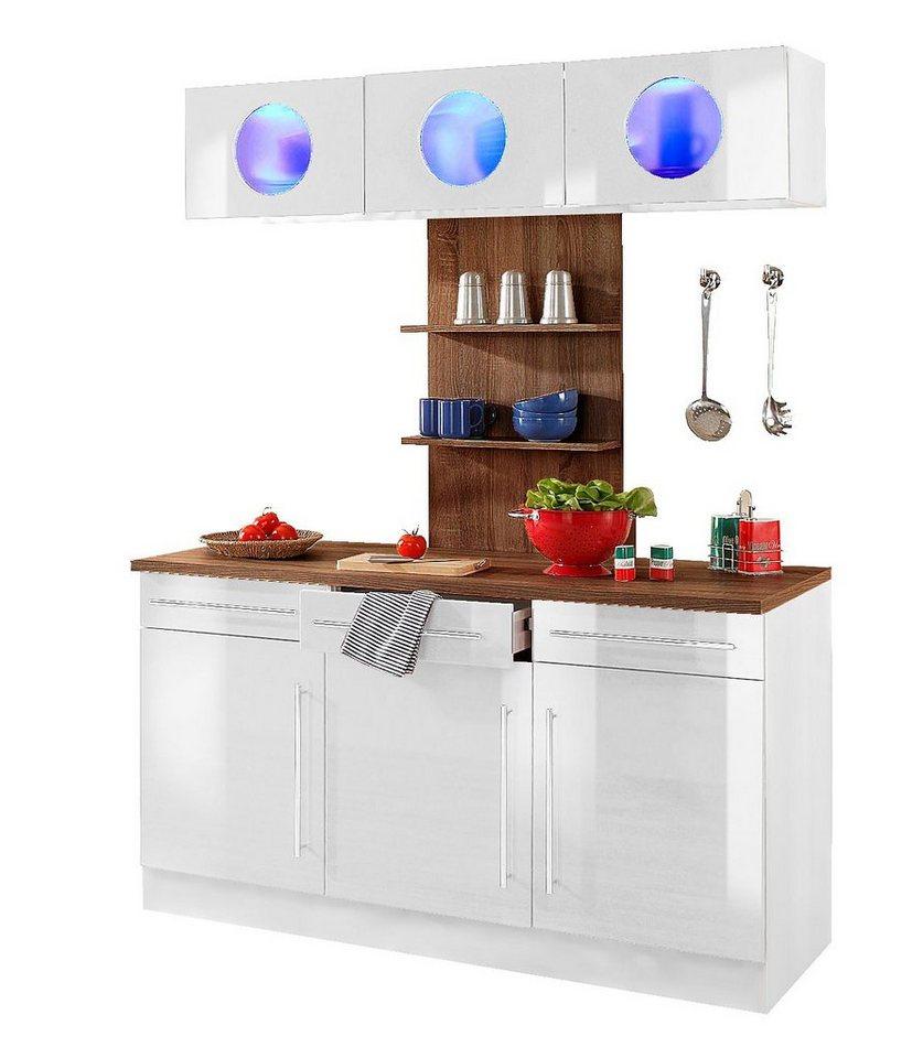 Küchenbuffet »Keitum«, Held möbel, Breite 150 cm in Weiß