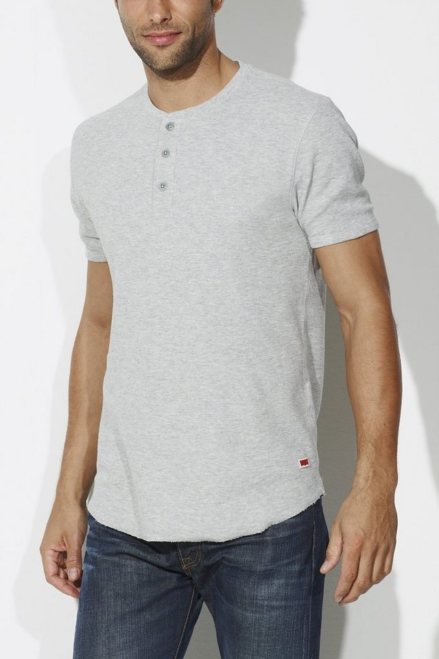 Levi's® T-Shirt, kurzarm »HEATHER GREY« in grau