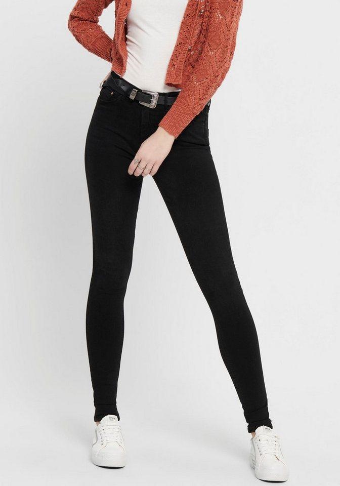 only -  High-waist-Jeans »ONLPAOLA«