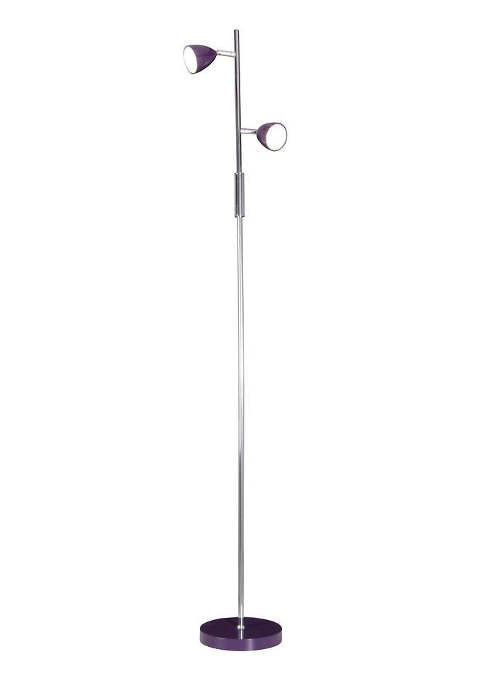 LED-Stehlampe, Näve (2flg.) in violett