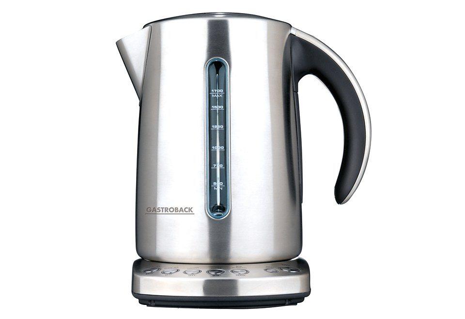 Gastroback Wasserkocher Design Advanced Pro 42429, 1,7 Liter, 2200 Watt