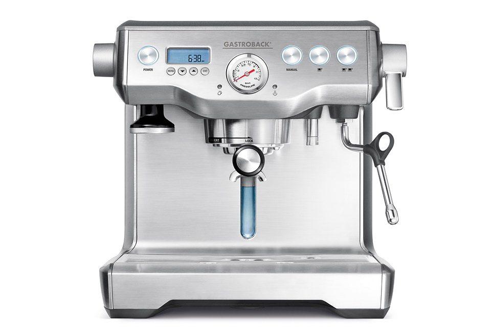 Gastroback Espressomaschine Design Espresso Advanced Control 42636, Siebträger