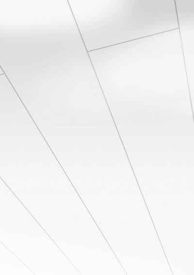 PARADOR Verkleidungspaneel »Style«, BxL: 18,2x128 cm, 1,4 qm, (Set, 6-tlg) arktisweiß