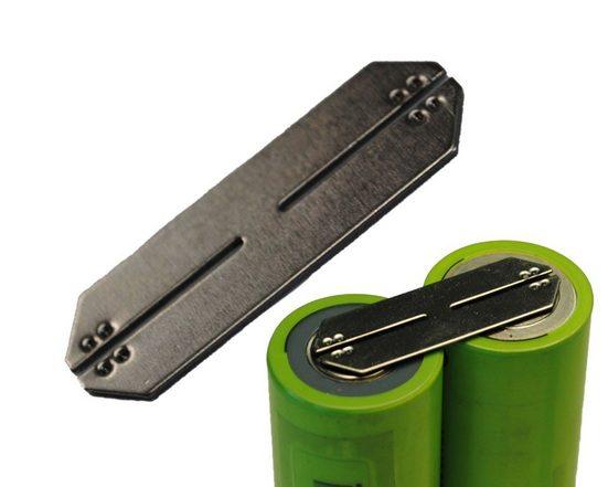 AccuCell »Hochstromverbinder für zwei 26650 Akku zum verbind« Batterie