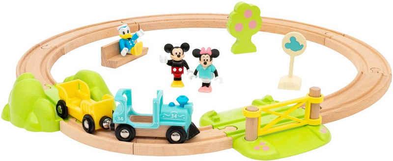 BRIO® Spielzeug-Eisenbahn »Micky Maus«, (Set, 18-tlg), FSC® - schützt Wald - weltweit