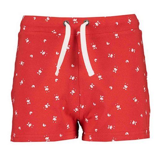 Blue Seven Sweatshorts »Blue Seven Mädchen Shorts kurze Hose rot Blumen« (1-tlg)