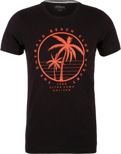 s.Oliver T-Shirt mit Print