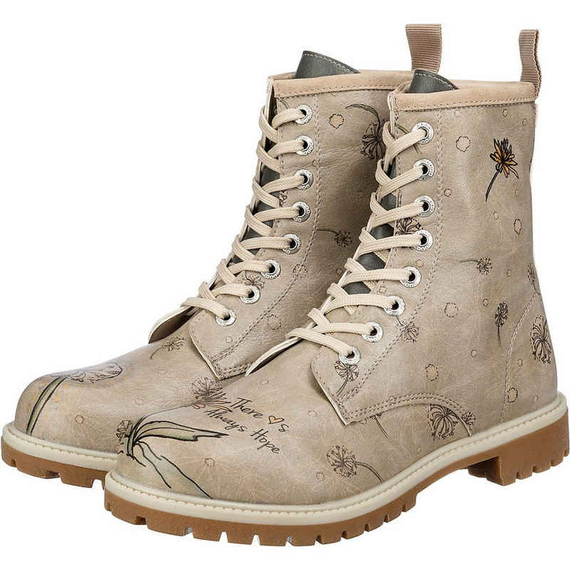 Dogo Shoes »Dogo Boots - There Is Always Hope Schnürstiefel« Schnürstiefelette