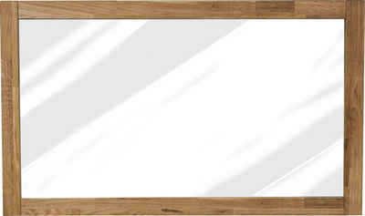 Home affaire Wandspiegel »Faleria«, aus Eiche massiv, Breite 100 cm