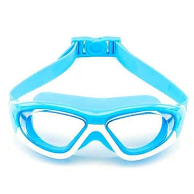 Masbekte Schwimmbrille, Kinder Schwimmbrille, Taucherbrille UV-Schutz Antibeschlag Schwimmen