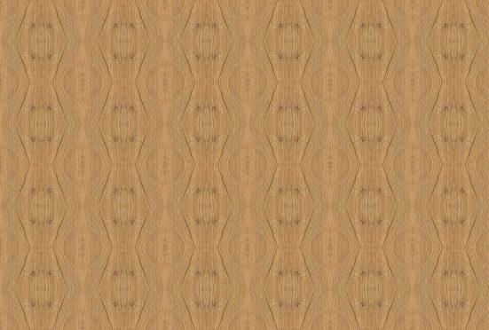 Architects Paper Fototapete »Oak Kaleidoscope«, (Set, 4 St), Holz Optik, Vlies, glatt