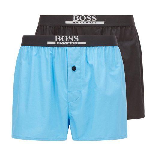 Boss Boxershorts »Herren Boxer Shorts, 2er Pack - Woven Boxer,«