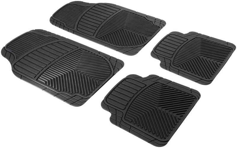 WALSER Auto-Fußmatte »Set Priscus« (4 Stück), zuschneidbar